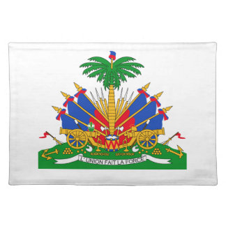 Haiti Coat of Arms Placemats
