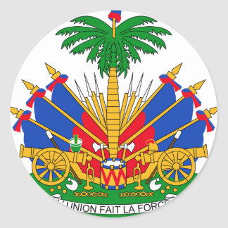 Haiti Coat of Arms Stickers