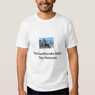 Haiti Earthquake Relief  The Maroons Tshirts