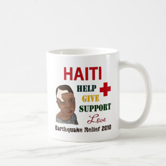 Haiti-EarthquakeRelief-2010-Boy, Haiti-Earthqua... Basic White Mug