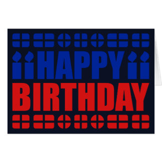 Haiti Flag Birthday Card