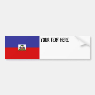 Haiti Flag Bumper Sticker