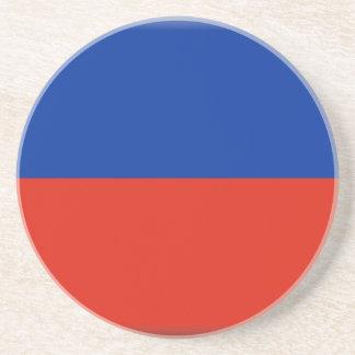 Haiti Flag Coaster