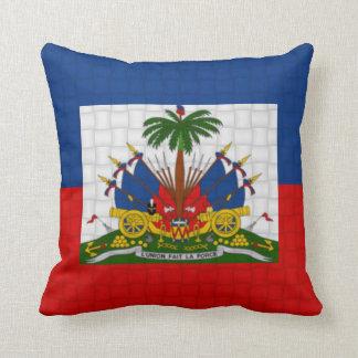 Haiti flag cushion