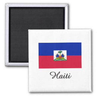 Haiti Flag Design Magnet