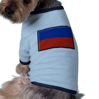 Haiti Flag Dog Tee