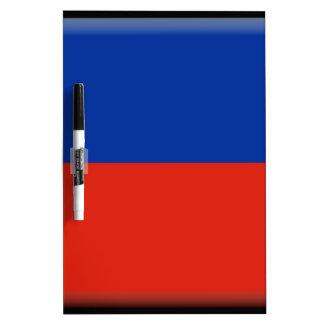 Haiti Flag Dry-Erase Whiteboard