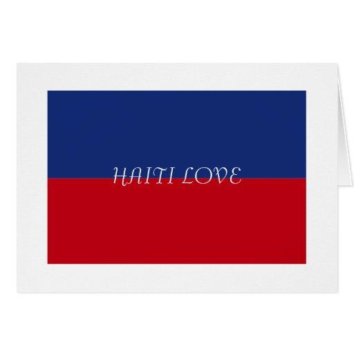 Haiti Flag Gifts Cards