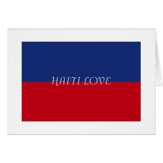 Haiti Flag Gifts Note Card