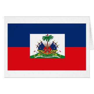 Haiti Flag Greeting Card