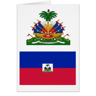 Haiti Flag HT Card