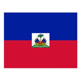 Haiti Flag HT Postcard