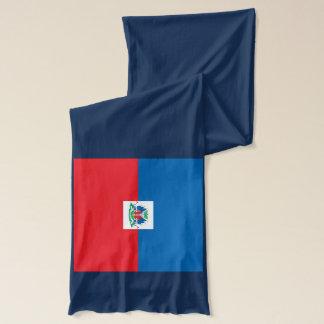 Haiti Flag Lightweight Scarf