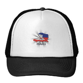 Haiti Flag Map 2.0 Cap
