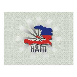 Haiti Flag Map 2 0 Post Cards