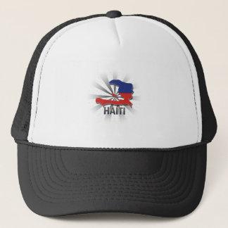Haiti Flag Map 2.0 Trucker Hat
