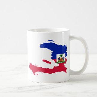 Haiti Flag Map HT Coffee Mug