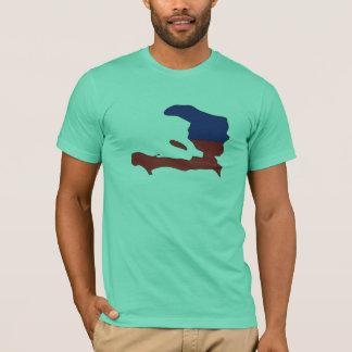 Haiti flag map T-Shirt