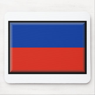 Haiti Flag Mouse Pad