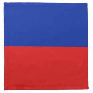 Haiti Flag Napkin