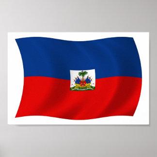 Haiti Flag Poster Print