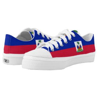 Haiti Flag Printed Shoes