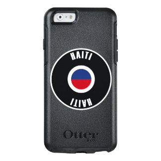 Haiti Flag Simple OtterBox iPhone 6/6s Case