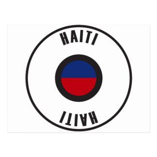 Haiti Flag Simple Postcard