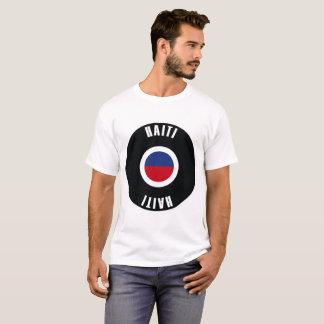 Haiti Flag Simple T-Shirt
