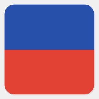 Haiti Flag Square Sticker