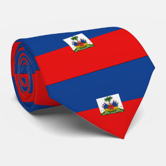 Haiti flag tie