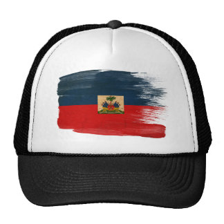 Haiti Flag Trucker Hat