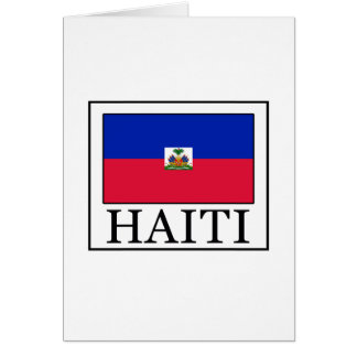 Haiti Greeting Card