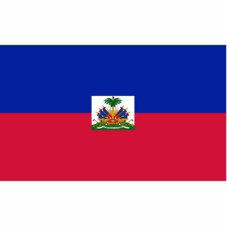 Haiti – Haitian Flag Acrylic Cut Out