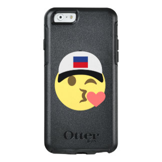 Haiti Hat Kiss Emoji OtterBox iPhone 6/6s Case
