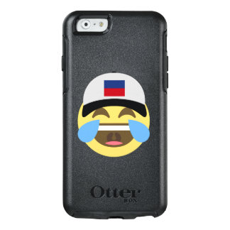 Haiti Hat Laughing Emoji OtterBox iPhone 6/6s Case