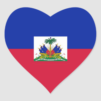 HAITI HEART STICKER