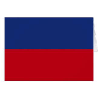 Haiti High quality Flag Greeting Card