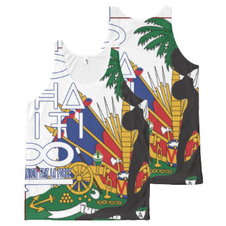 Haiti Independence Graphic Tank All-Over Print Tank Top