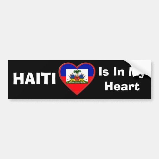 Haiti is In our hearts Bumper Sticker