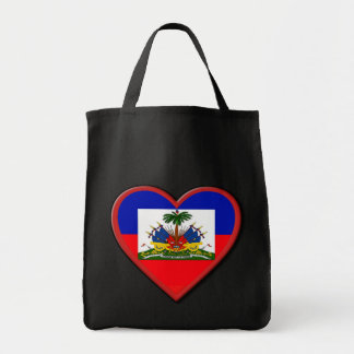 Haiti is In our hearts Grocery Tote Bag