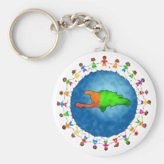 Haiti Kids Key Ring