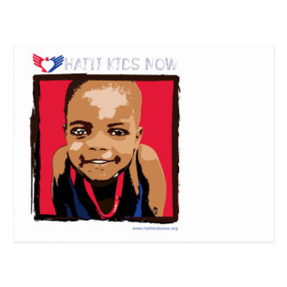 Haiti Kids Now Charity Fundraiser Postcard