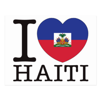 Haiti Love v2 Postcard