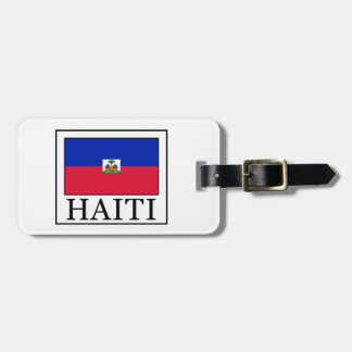 Haiti Luggage Tag