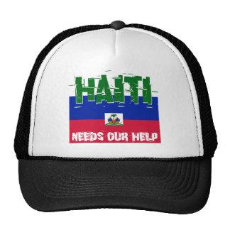 Haiti Needs Our Help Cap