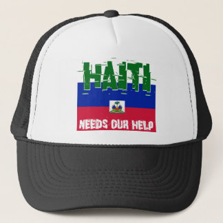 Haiti Needs Our Help Trucker Hat