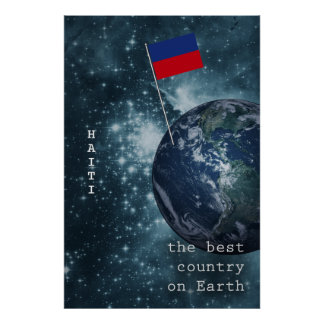 Haiti Out Of This World Poster