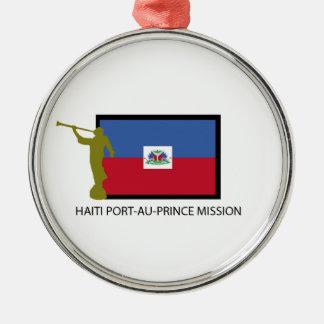 HAITI PORT-AU-PRINCE MISSION LDS CTR CHRISTMAS ORNAMENT