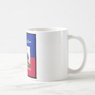 Haiti products basic white mug